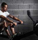 What muscles work on the rowing machine?