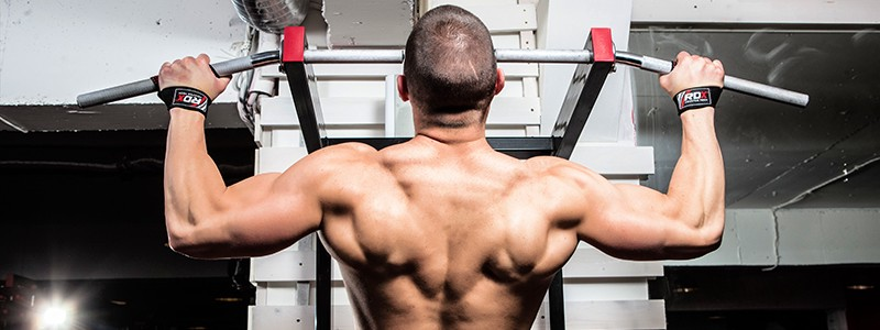 Latissimus Dorsi Exercises With A Pull-Up Bar