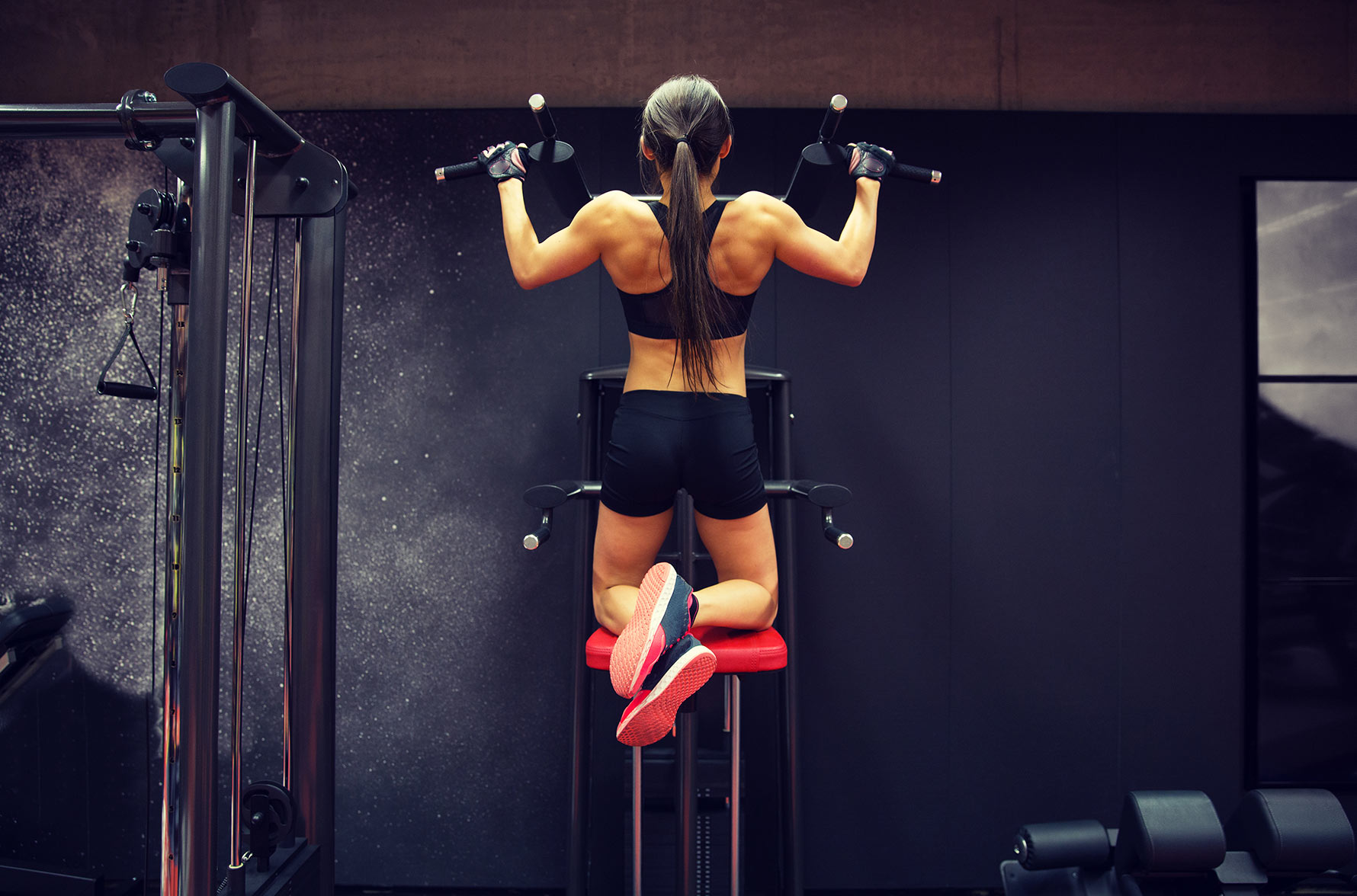 how to do butterfly pull ups